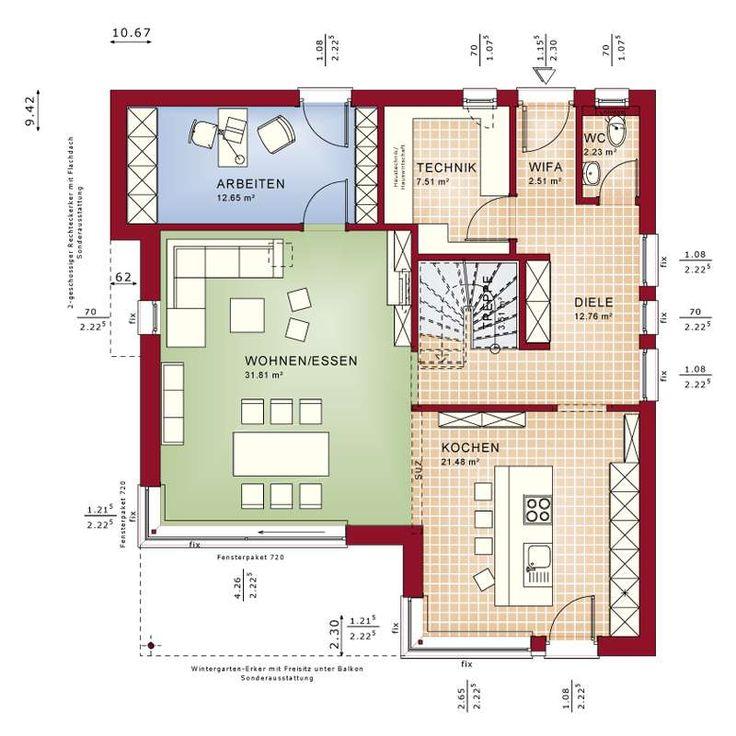 Ziemlich Moderner Hausschaltplan Ideen - Elektrische Schaltplan ...