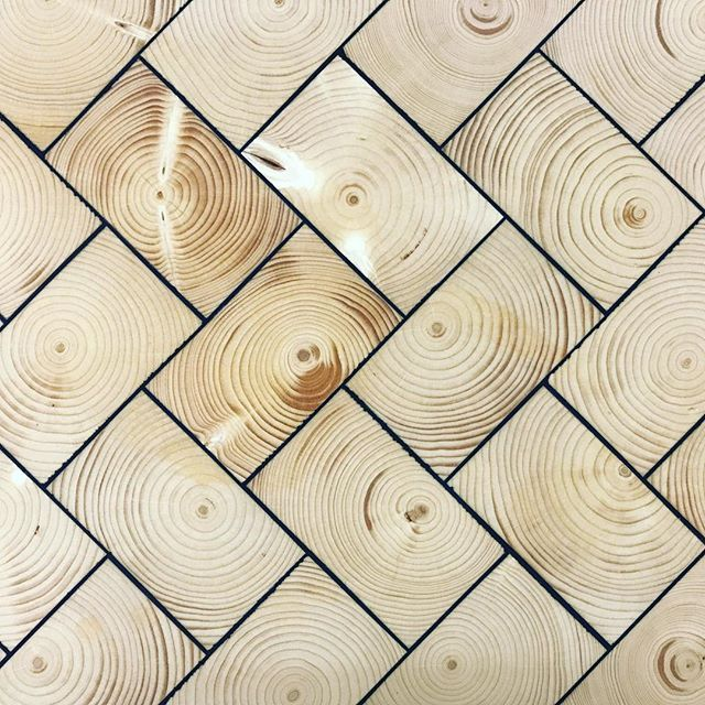 Danish designed End Grain blocks flooring