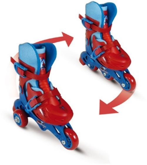Spider Man Evolution Roller Skates Toys Games Activities Fun Educational