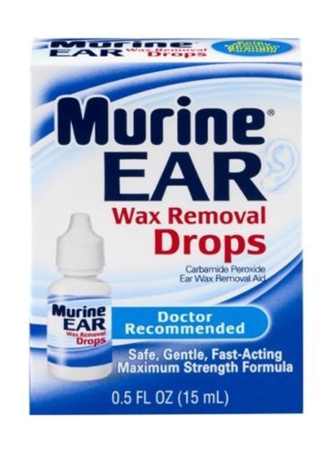 Ear Drops: Murine Ear Wax Removal Drops Maximum Strenght Formula - 0.5 Oz (Pack Of 3) -> BUY IT NOW ONLY: $36.8 on eBay!