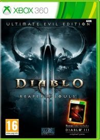 DIABLO III 3 Reaper of Souls Ultimate Evil Diablo III Reaper of Souls Ultimate Evil Edition XBOX 360 contains Diablo III and the expansion Diablo III Reaper of Souls FACE ULTIMATE EVIL Over 13 million players have battled the demonic hordes of http://www.comparestoreprices.co.uk/january-2017-6/diablo-iii-3-reaper-of-souls-ultimate-evil.asp