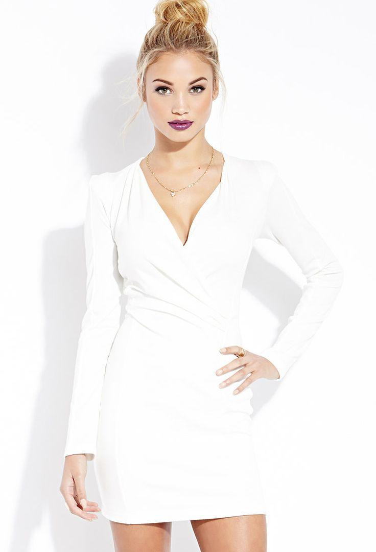 White Bandage Dress Forever 21
