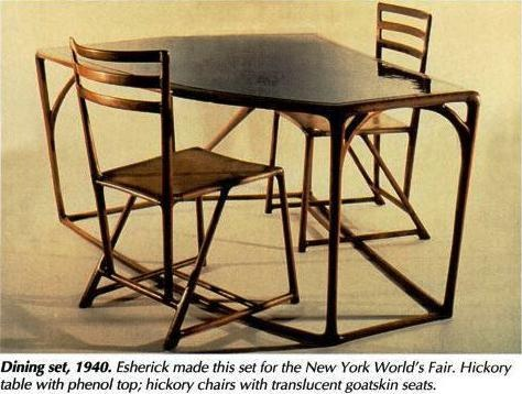 """Wharton Esherick (1887-1970) """"Many craft experts consider Wharton Esherick the most important American woodworker of the 20th century--yet many woodworkers ..."""
