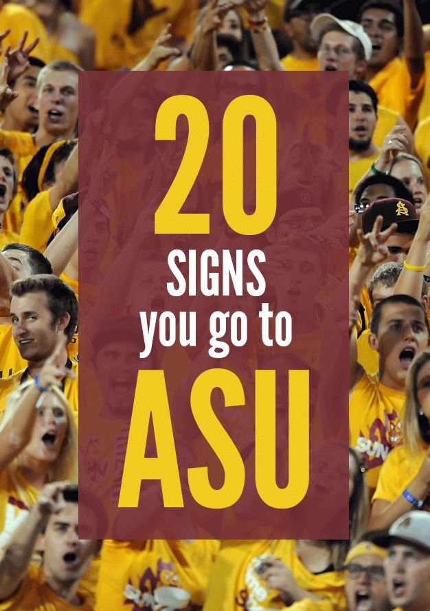 1. You have maroon and gold everything! texags.com 2. Spring is the best because of Devil Aid! AKA the best use of the sour oranges that grow all over the ASU campus. instagram.com/schlabola 3. Sandal season is all year. Minus a month or so for Christmas. instagram.com/nalasu 4. You loving going to ASU campus events […]