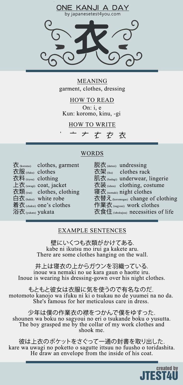 Kanji for learn