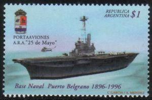 "Aircraft carrier ""25 de Mayo"""