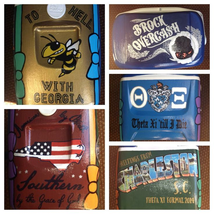 Georgia Tech Theta Xi Cooler…Awesome!