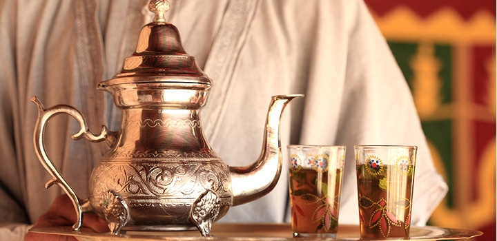 Maroccon thee, #Marrakech