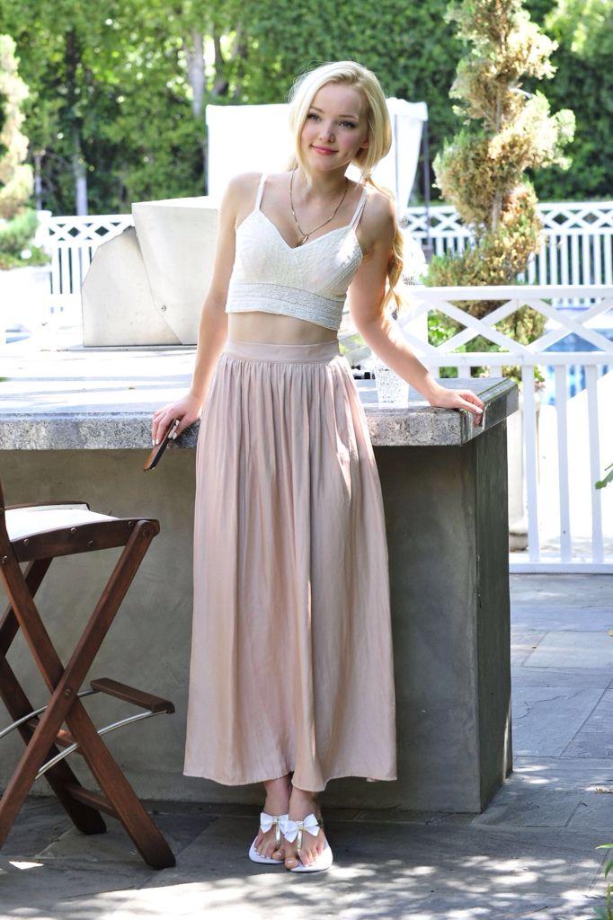 Braun white cream skirt