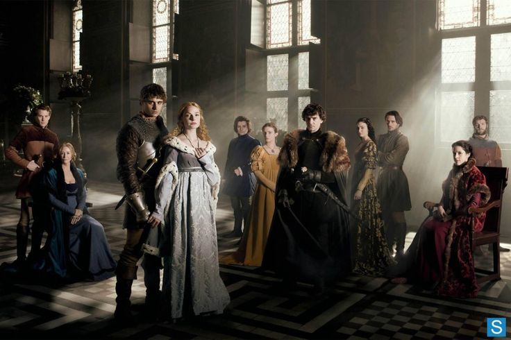Cast of 'The White Queen'  #Starz