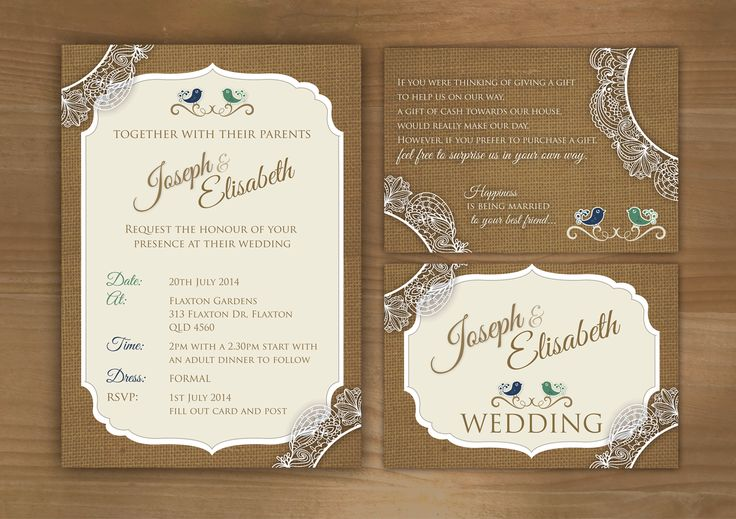 Latest wedding design - www.wrappd.com.au