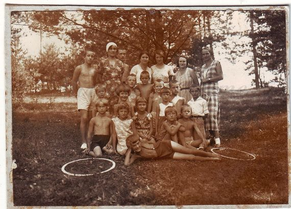 Vintage Photo  Summer time  Family photo  Children photo