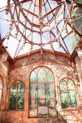Beautiful wedding chapel at Shepstone Gardens