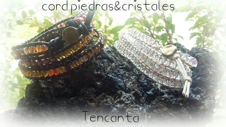 Cord Piedras&Cristales Terra&Doré / Bianca