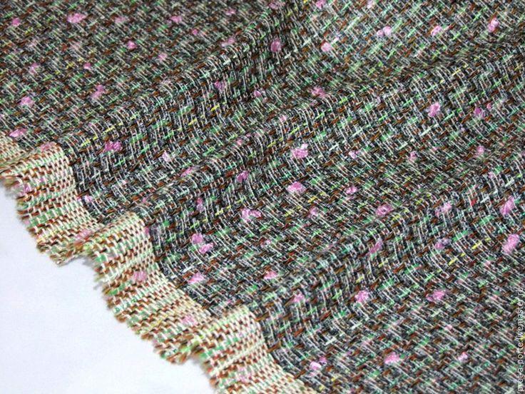 Купить -20% Couture стиль chanel твид , Италия - итальянские ткани, Итальянская шерсть