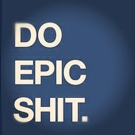 Do epic shit.  Because it matters.  DESIGN THE LIFE YOU WANT TO LIVE...a blog about...doing epic shit in the fight against #cancer. A must read.