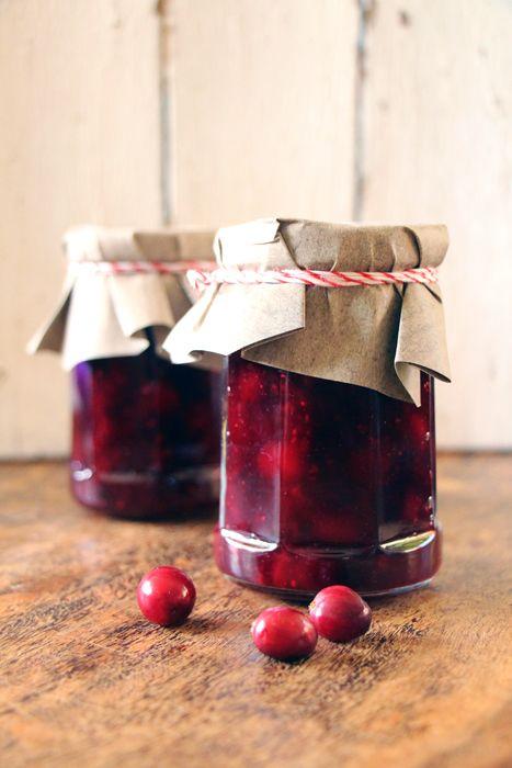 Cranberry Chutney zum Weihnachtsessen