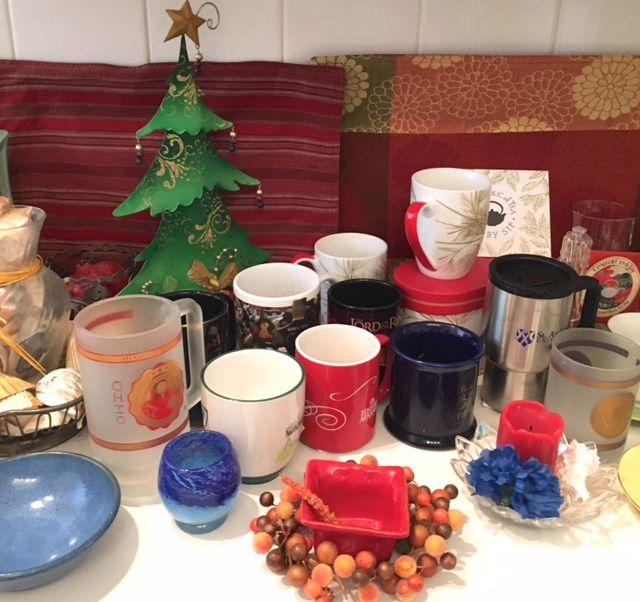 My family Christmas tea & coffee. Hot chocolate with dairy ...