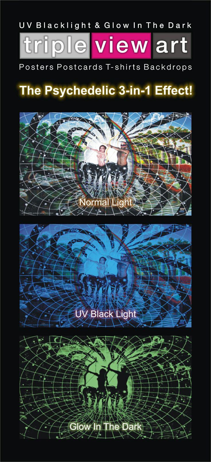 136 best uv black light art posters images on pinterest