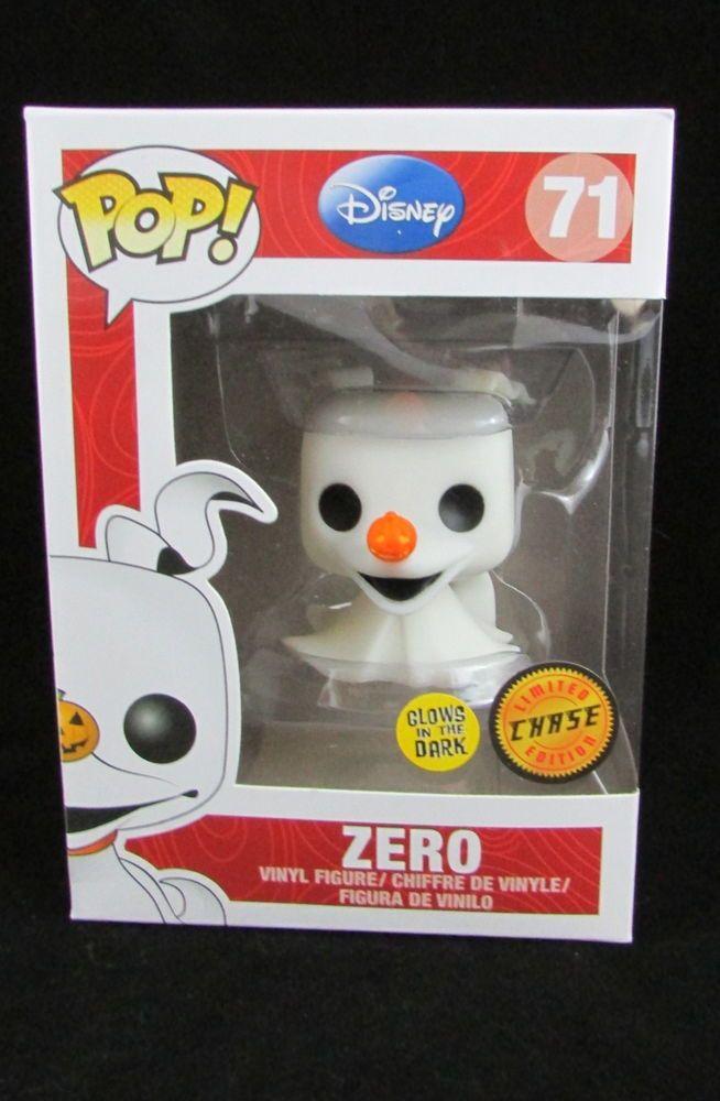 Funko Pop Vinyl Disney Nightmare Before Christmas Zero 71