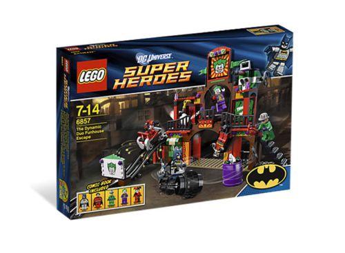 LEGO Batman DC Super Heroes The Dynamic Duo Funhouse Escape (6857)  Retired NEW