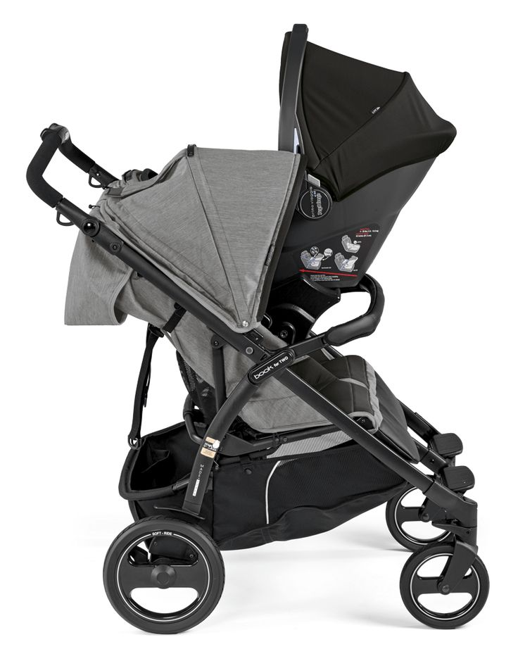 The compact, double stroller, Book for Two Italianmade