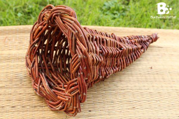 Willow Weaving Horn of Plenty