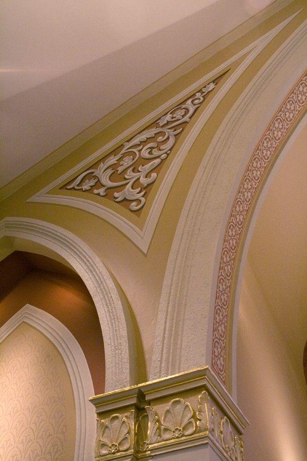 Trompe L'Oeil Window Pane Art | Decorative trompe l'oeil for St. Bartholomew Catholic Church, Stevens ...