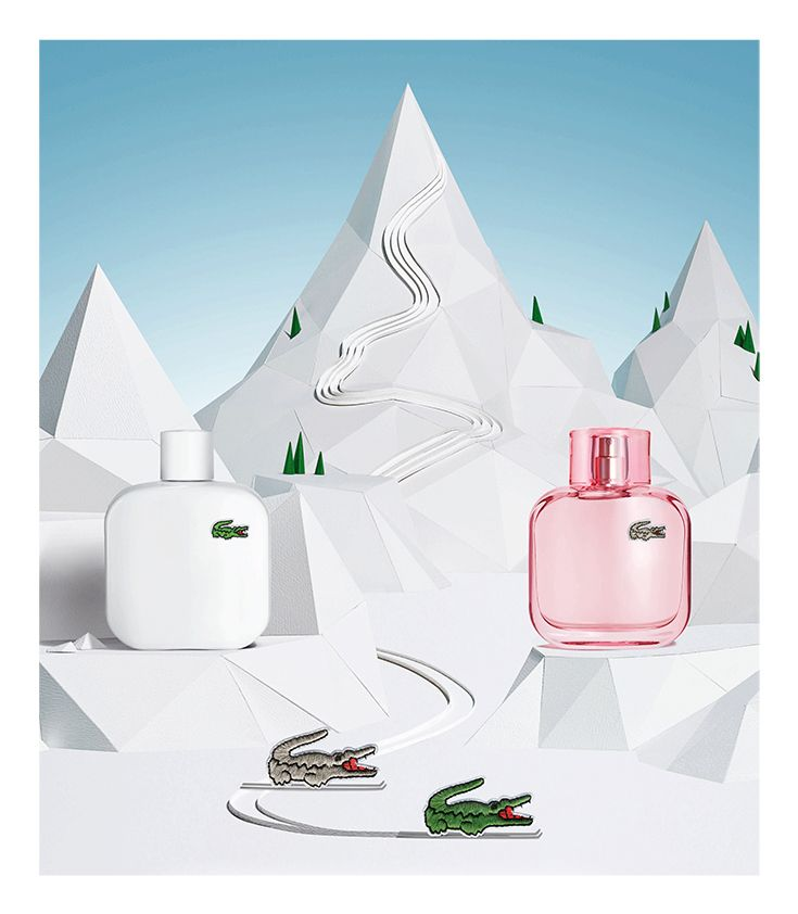 Looking for the perfect gift? Discover the Eau de Lacoste L.12.12 fragrance collection. Now available for him and for her. #LACOSTEGIFTS