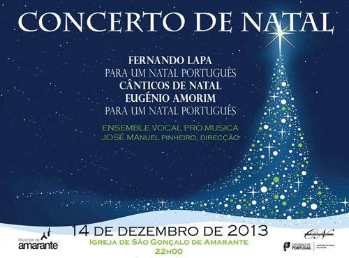 Concerto em Amarante, Portugal