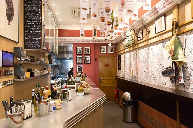 L'Avant Comptoir, a standing-only tapas bar | Paris, France