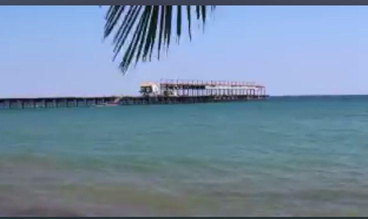 El icónico muelle de Puerto Armuelles, Chiriquí, Panamá 🇵🇦 da la bienvenida a sus visitantes en el distrito de Barú con una superficie de 222.5 kms cuadrados. 1/19/18 @canaldepanama