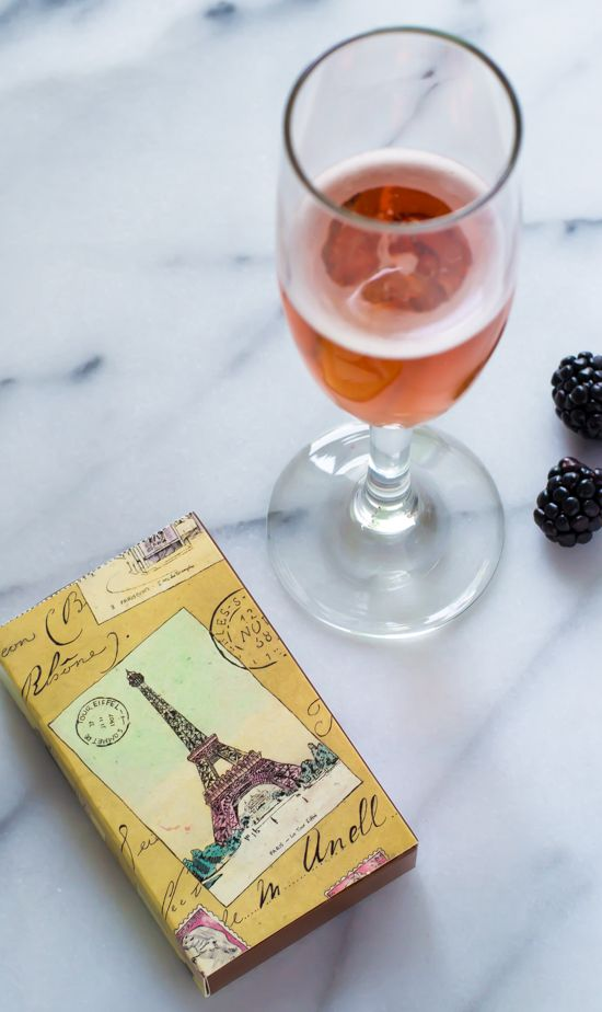 Kir Royale. 2 ingredient classic French cocktail that tastes heavenly and is perfect for any occasion!