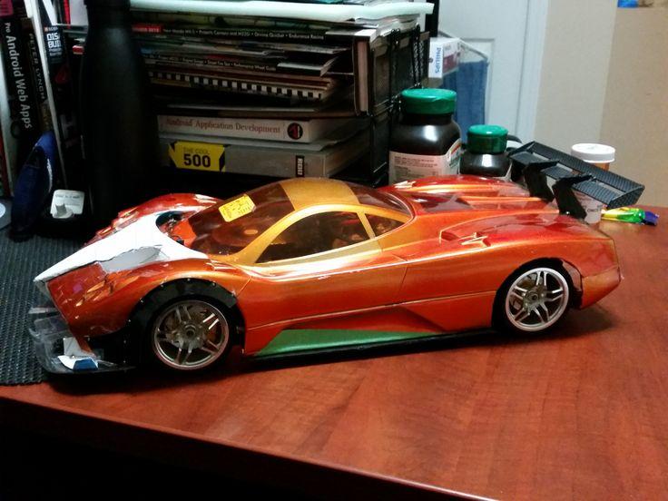 [Custom Pagani Zonda 1/10 RC prototype]