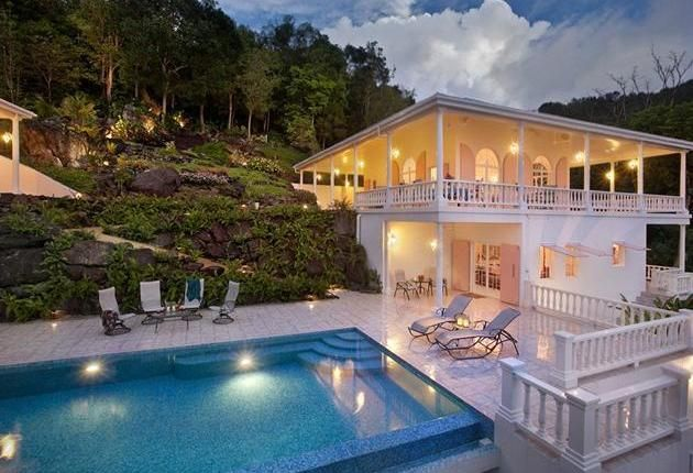166 best pool time images on pinterest ranges buy for Luxury caribbean homes for sale
