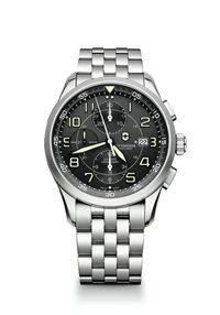 Pánske Hodinky AirBoss 241620 Swiss-made automatický strojček Valjoux 7750, presnosť merania chronografu až 1/4 sekundy, priemer púzdra: ø 42mm