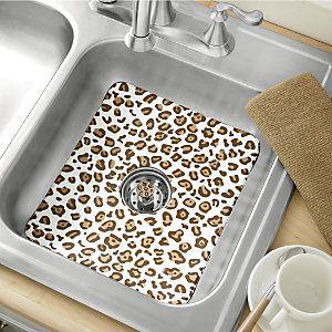 Exceptional Animal Print Sink Mat U0026 Strainer From Ginnyu0027s ® | JI63854. Animal Print  DecorAnimal PrintsCondo KitchenKitchen ColorsLeopard ...