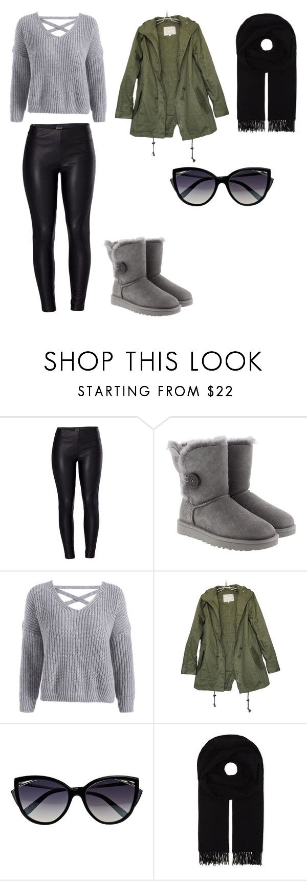 """fall2017"" by kaarlsson23 on Polyvore featuring Venus, UGG, La Perla and Canada Goose"