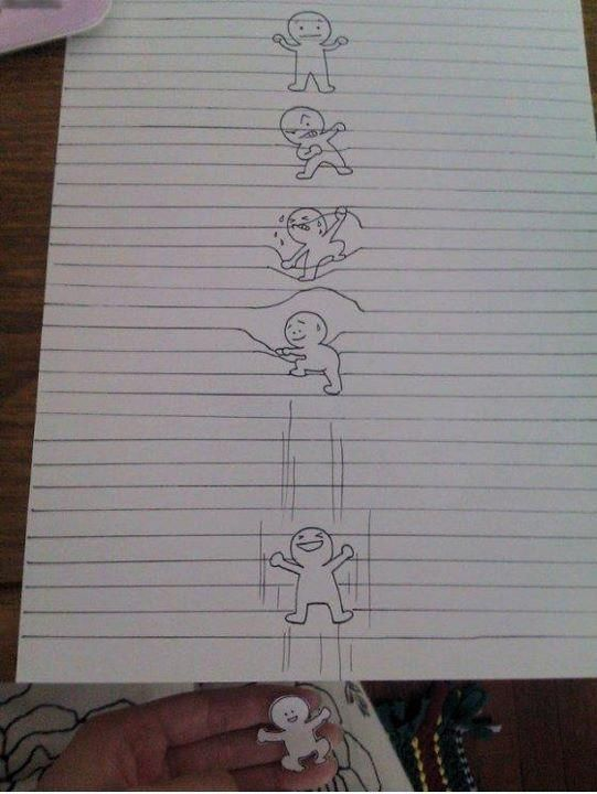 Kreative Langeweile auf dem Notizblock on http://www.drlima.net