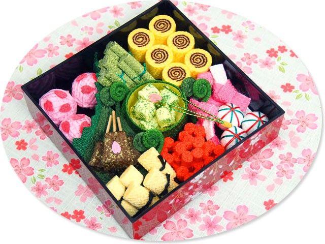 桜お花見重箱