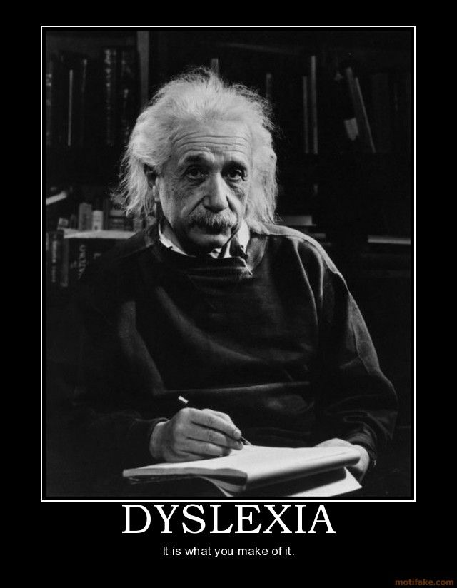 Famous Dyslexics Means That