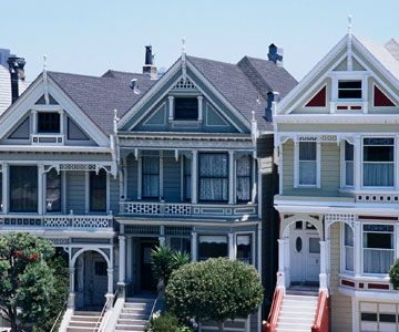 29 best images about victorian row houses on pinterest for Victorian style kit homes