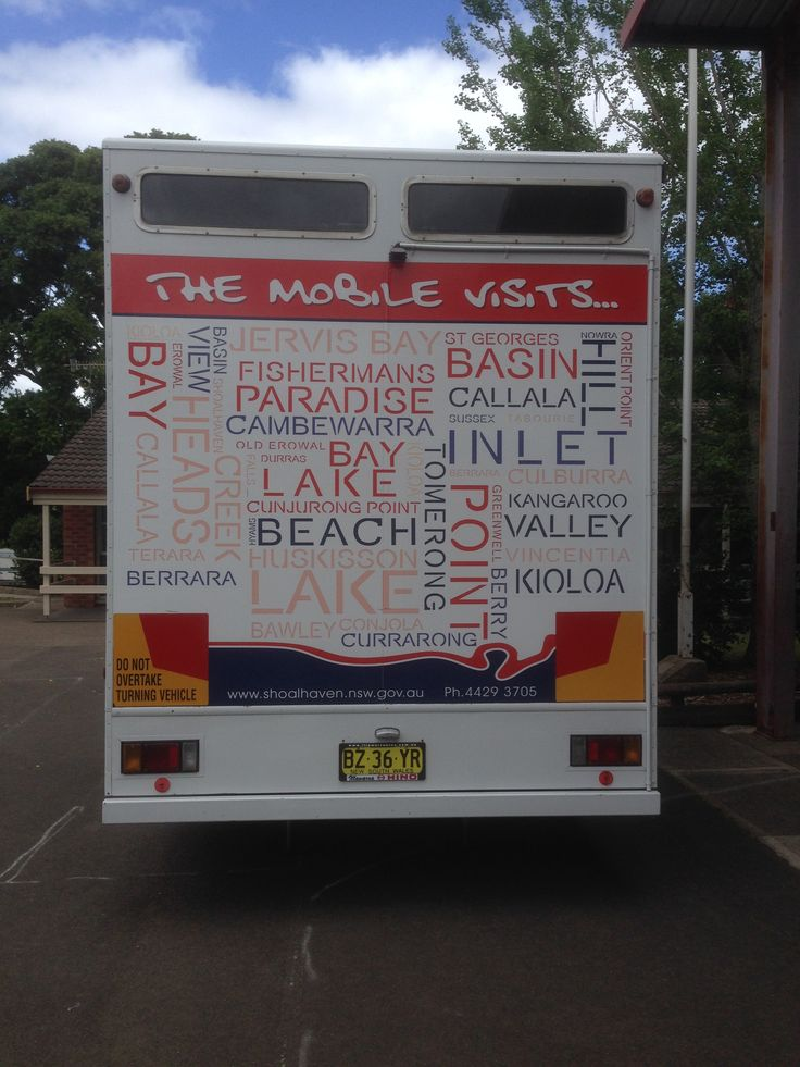 Shoalhaven mobile library  2014