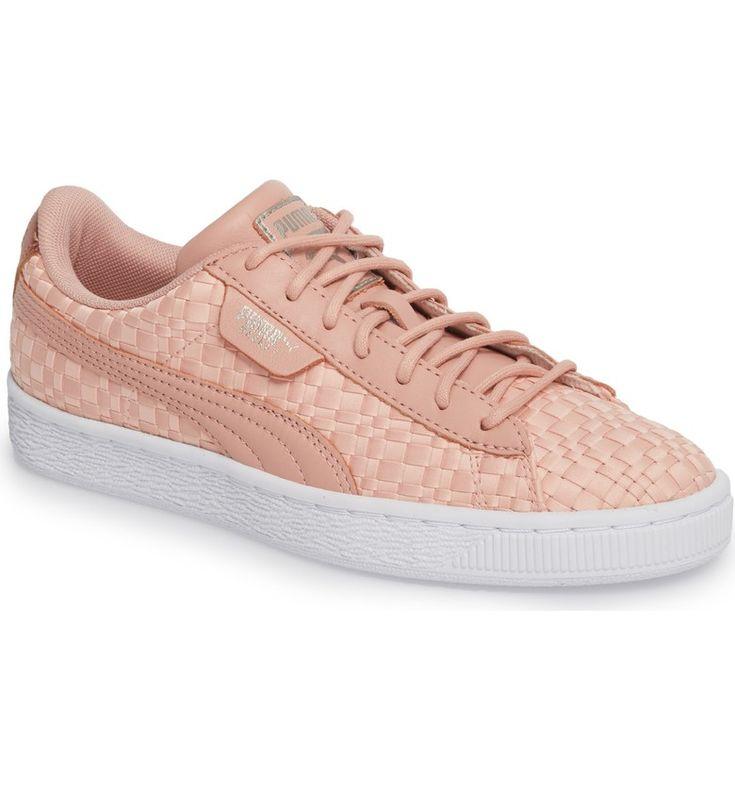 PUMA Basket Satin Woven Sneaker (Women)