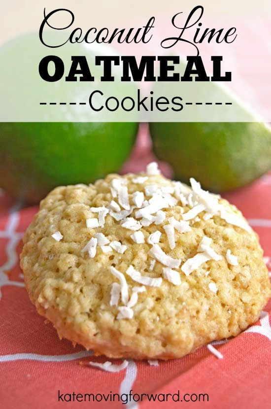 These are not your ordinary oatmeal cookies! They are sweet, buttery, and have the perfect balance of lime and coconut to keep you coming back for more.