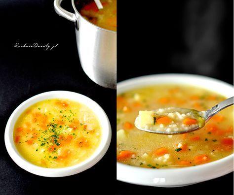 Doskonały, domowy krupnik. Przepis na tę zupę dostałam od mojej babci, jest dokładnie taka jaką pamiętam z dzieciństwie. Krupnik jest gęsty i sycący.