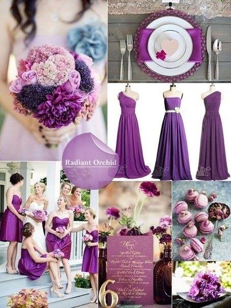 Самые модные цвета для свадьбы грядущей осенью  [club45157352|Забирайте на стену, чтобы не потерять]    #wedding #bride #flowers