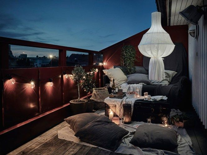 6 Claves Para Decorar Una Terraza Nórdica Interior Design