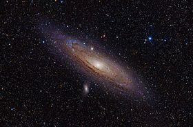Galáxia de Andrômeda – Wikipédia, a enciclopédia livre