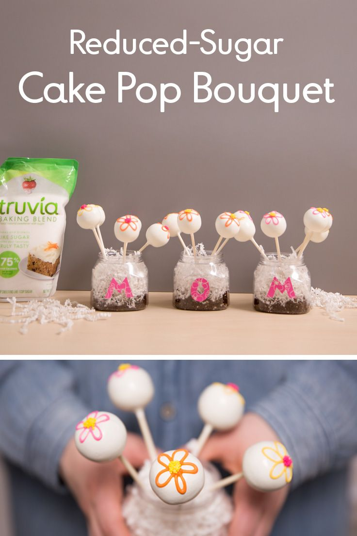 Thank you, moms! Impress your mama this weekend with our DIY cake pop spoonable bouquet.  https://www.truvia.com/recipes/white-cupcakes
